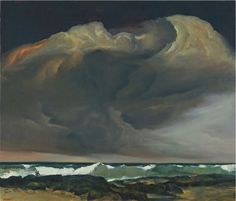 Rick Amor Sea and Storm 2010 Abstract Landscape, Landscape Paintings, Landscapes, Australian Painting, Sky Painting, Traditional Landscape, Elements Of Art, Art Oil, Illustration Art