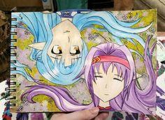 Asuna and YuukiT.T by Sorioffantasy on DeviantArt