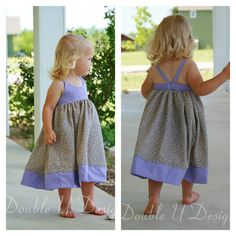 Baby Hummingbird Dress  girls' summer dress  NB to size