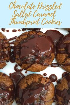 A crisp, chewy cookie base filled with gooey salted caramel that sets off flavor fireworks, taken over the top with a melt-in-your mouth chocolate drizzle. These gluten, dairy, soy, and refined sugar free Chocolate Drizzled Salted Caramel Thumbprint Cookies are something out of a dream…