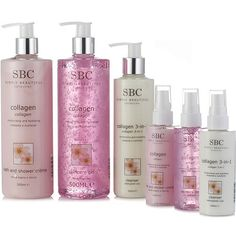 209434 SBC Essential Collagen Home & Away Skincare Collection  QVC Price:£35.52 + P&P: £5.95 4 Easy Pay instalments of  £8.88, plus P&P