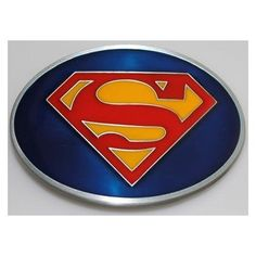 2eb30b4743a Amazon.com  Superman Returns Logo Belt Buckle (Brand New)  Clothing