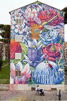 SANBA 2014 - FACCIATA 2_Artista: LIQUEN_EL DIVENIR©VALERIO-MUSCELLA