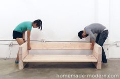 HomeMade Modern DIY EP70 Outdoor Sofa Step 7