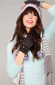 Carly Rae Jepsen for Wet Seal's holiday collection