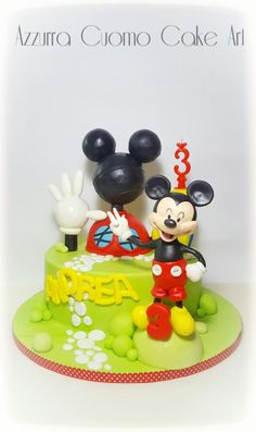 Mickey Mouse Clubhouse  cake by Azzurra Cuomo Cake Art