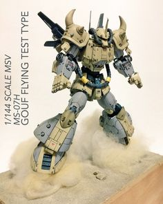 GUNDAM GUY: HG 1/144 Gouf Flying Type - Customized Build