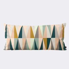 This plush and fetching Spear Cushion was created for the Danish design studio ferm LIVING.Since being established in Copenhagen in ferm LIVING ha Modern Throw Pillows, Large Pillows, Decorative Throw Pillows, Decor Pillows, Toss Pillows, Collections D'objets, Contemporary Pillows, Modern Rugs, Textiles