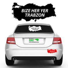#türkiye #bizeheryer#trabzon-#Autoaufkleber