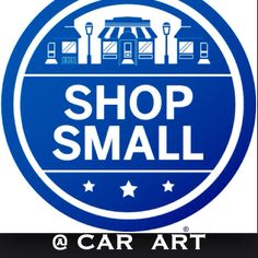 Shop your local small business on Sat Nov 29th  Car Art 101 S. Congress Ave  Delray Beach Fl 561.266.8553 Register and Use your American Express card and receive $10 back from Amex. Go to  Shopsmall.com