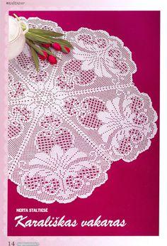 Extraordinary elegance mesh points no 30 Filet Crochet Charts, Crochet Doily Patterns, Crochet Cross, Crochet Round, Crochet Home, Thread Crochet, Irish Crochet, Crochet Designs, Crochet Doilies
