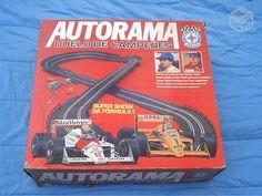 Brinquedo Antigo, Autorama Ayrton Senna Da Estrela