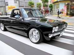 1979 Datsun 620 - It's the quintessential minitruck, lending itself equally to being bagged and body dropped, lifted on 33s, or even pro-touring style with Volks...