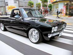 I remember Datsun. I had a Datsun. Bagged Trucks, Lowered Trucks, Mini Trucks, Cool Trucks, Pickup Trucks, Cool Cars, Datsun 510, Classic Trucks, Classic Cars