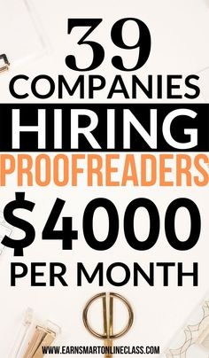 Looking for online proofreading jobs to work from home? Here is a list of 31 online proofreading jobs for beginners. Start earning today as a proofreader! Ways To Earn Money, Earn Money From Home, Earn Money Online, Way To Make Money, Lists To Make, Making Money From Home, Online Earning, Money Tips, Online Jobs From Home