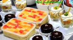 My Lemon Square Inipit Recipes | Filipino Dessert Recipes by PingDesserts.com
