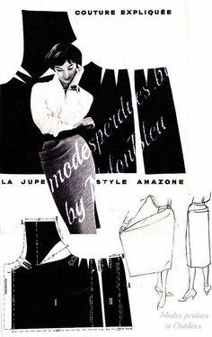 A la Recherche des Modes Perdues et Oubliées: Jardin des Modes - Mars 1957 *