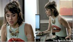 Últimos looks da Patrícia em dezembro na novela Amor à Vida