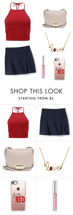 """""""Cute Summer Outfit"""" by lsantana13 ❤ liked on Polyvore featuring Boohoo, ZAC Zac Posen, Les Néréides, Casetify and Essence"""