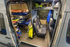Hand crafted in Troutdale, OR. The leader of epic custom van conversions. Mercedes Benz Sprinter, Mercedes Sprinter Camper, Van Conversion Interior, Camper Van Conversion Diy, Truck Camping, Van Camping, Motorhome, Vw T4, Volkswagen