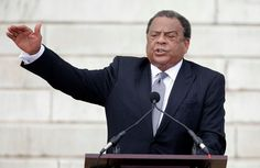 "Former United Nations Ambassador Andrew Young speaks at the Let Freedom Ring ceremony at the Lincoln Memorial in Washington, Wednesday, Aug. 28, 2013, to commemorate the 50th anniversary of the 1963 March on Washington for Jobs and Freedom. It was 50 years ago today when Martin Luther King Jr. delivered his ""I Have a Dream"" speech from the steps of the memorial."