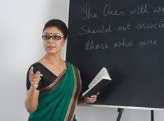 Teaching, rather being defined as a profession or an occupation, is an art, is a pure magic of pulling someone from marsh and giving her/him a new life . Career Options, Career Opportunities, Married Woman, Working Woman, Equality, Marriage, Teacher, Sari, Indian
