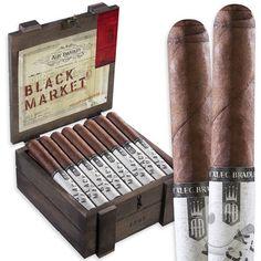 Alec Bradley Black Market Cigars. One of the best tasting cigars I've ever had.
