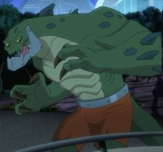 A cropped image of Killer Croc from Batman Unlimited direct to video. Doom 3, Comic Art, Comic Books, Killer Croc, Marvel Comics Art, Batman Art, Gotham, Animation, Deviantart
