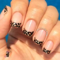 Leopard French Tip Wraps