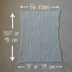 Tutorial for long sweater shrug & instructions for adding a ribbed collar. Easy Chunky Crochet Sweater - All About Ami This post was discovered by fo Beautiful, modern and cute crochet, amigurumi, and knit patterns by Stephanie Jessica Lau! Poncho Au Crochet, Pull Crochet, Crochet Cocoon, Crochet Cardigan Pattern, Chunky Crochet, Crochet Jacket, Crochet Stitches, Knitting Patterns, Crochet Patterns