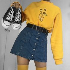 Hipster Outfits To Make Everyone Envy Indie Outfits, Teen Fashion Outfits, Cute Casual Outfits, Korean Outfits, Retro Outfits, Stylish Outfits, Vintage Outfits, Girl Outfits, Rock Outfits