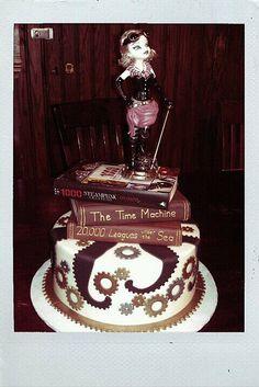 steampunk cake design!