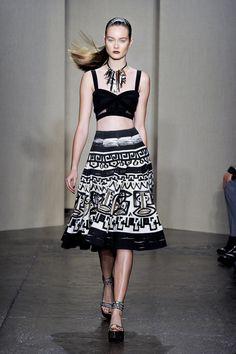 Donna Karan's Spring 2012 collection.