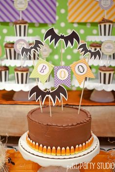 Halloween Pottery Barn Kids event  {Petite Party Studio}