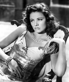 Gene Eliza Tierney (November 19, 1920 – November 6, 1991) was an American film and stage actress. Acclaimed as a great beauty, she becam...