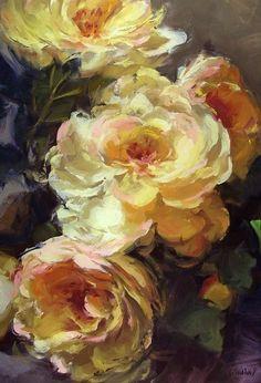 roses flowers stil-life Kurt Anderson