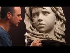Sculpting Extreme Makeover in Clay. Sculpting Demo. (Plastic surgery in clay) - YouTube