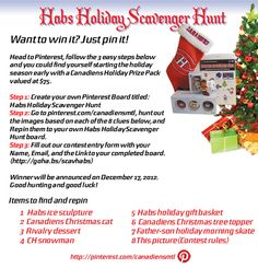 doing a Holiday Scavenger Hunt Contest Rules, Hockey, Gadgets, Cupcakes, Social Media, Holidays, Reading, Books, Sports