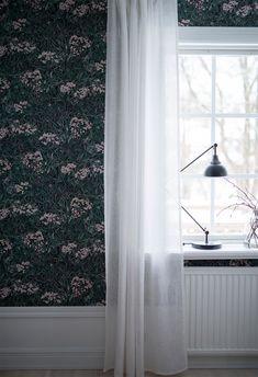Livingroom | Wallpaper Malin |Sandberg Wallpaper