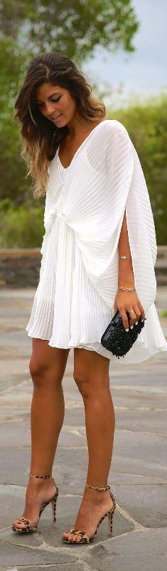 Little White Dress / Fashion By Trendy Taste