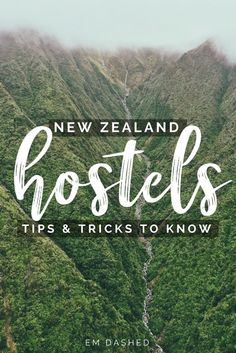 A collection of tips, tricks, suggestions, and reminders to get the most out of your stay in New Zealand hostels, from someone who has stayed in more than she can count.   #NewZealand   Photo by Cassie Matias