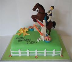 jumping horse cake - Google Search