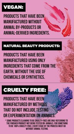 "First things first, let's clear up what ""cruelty-free,"" ""vegan,"" and ""natural"" actually mean when it comes to beauty products, because the terms aren't interchangeable."