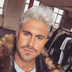 nice 55 Examples of Stunning Bleached Hair for Men - How to Care at Home