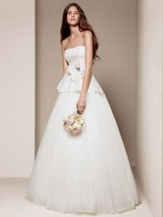 White by Vera Wang Wedding Dresses Photos on WeddingWire