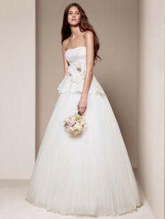 White by Vera Wang Wedding Dresses Photos on WeddingWire