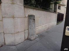Paris-bise-art : Borne royale rue de Vaugirard
