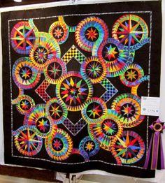 Black and Tan quilt center by Sue Garman | Quilts | Pinterest ... : spokane quilt show - Adamdwight.com