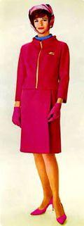 Braniff Airlines Rhaspberry Suit - Emilio Pucci