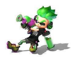 A Splatoon Anime Has Been Announced – My Nintendo News Splatoon Costume, Splatoon Games, Splatoon 2 Art, Nintendo 2ds, Nintendo Switch, Super Smash Bros Brawl, Nintendo Characters, Thing 1, My Guy